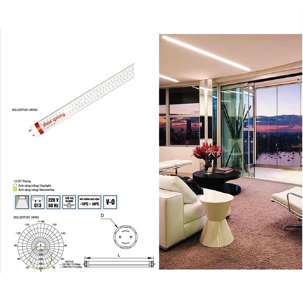 Đèn tuýp LED điện quang ĐQ LEDTU01 18765 2