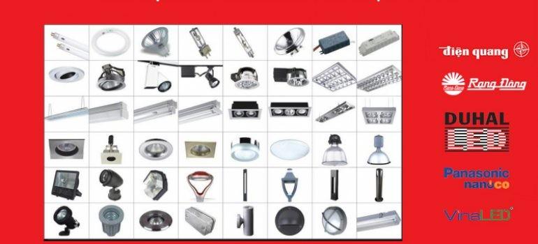 tổng hợp catalogue các thương hiệu đèn led lớn nhất